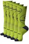 5 Pack Funky Yellow Socks