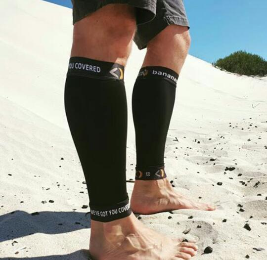 Calve compression sleeves